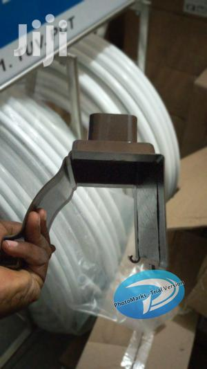 Classic Black Water Gutter Rain Connector Gerard Stone Coated Roof   Building Materials for sale in Lagos State, Ibeju