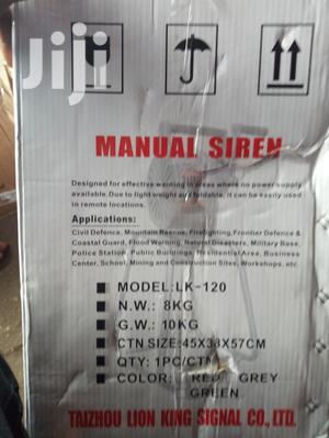 Manual Siren Alarm | Safetywear & Equipment for sale in Rivers State, Port-Harcourt
