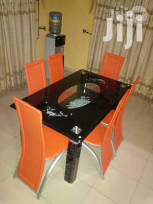 Good Quality Glass Dining Table(516)   Furniture for sale in Lagos State, Magodo