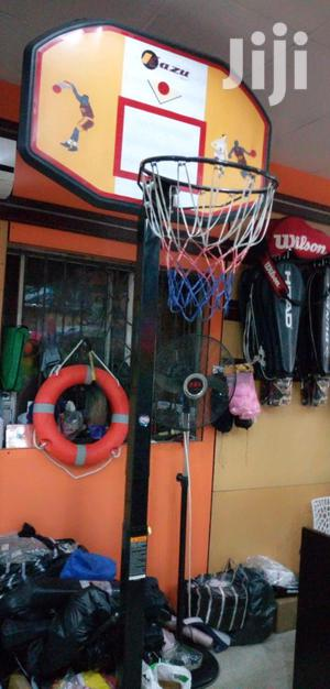 Basketball Upright With Rim and Net | Sports Equipment for sale in Lagos State, Lekki