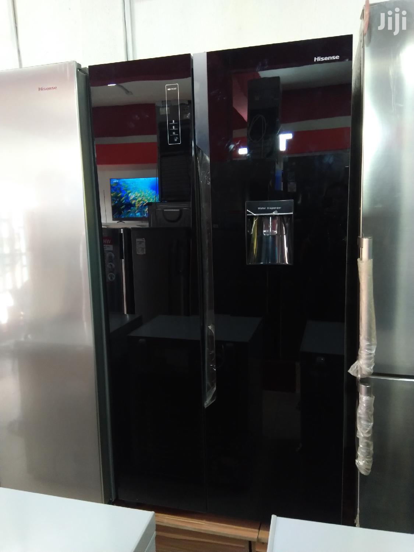 Brand New Hisense Ref76ws514litter Side By Side Black Mirror