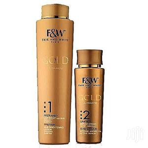F&W Gold AHA Brightening Lotion Gold Serum   Skin Care for sale in Lagos State, Ojo