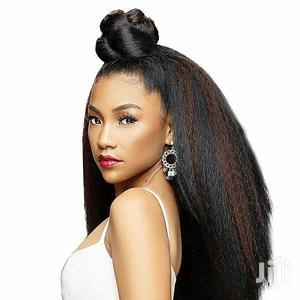 2packs of Kinky Straight - Colour 1 | Hair Beauty for sale in Lagos State, Lagos Island (Eko)