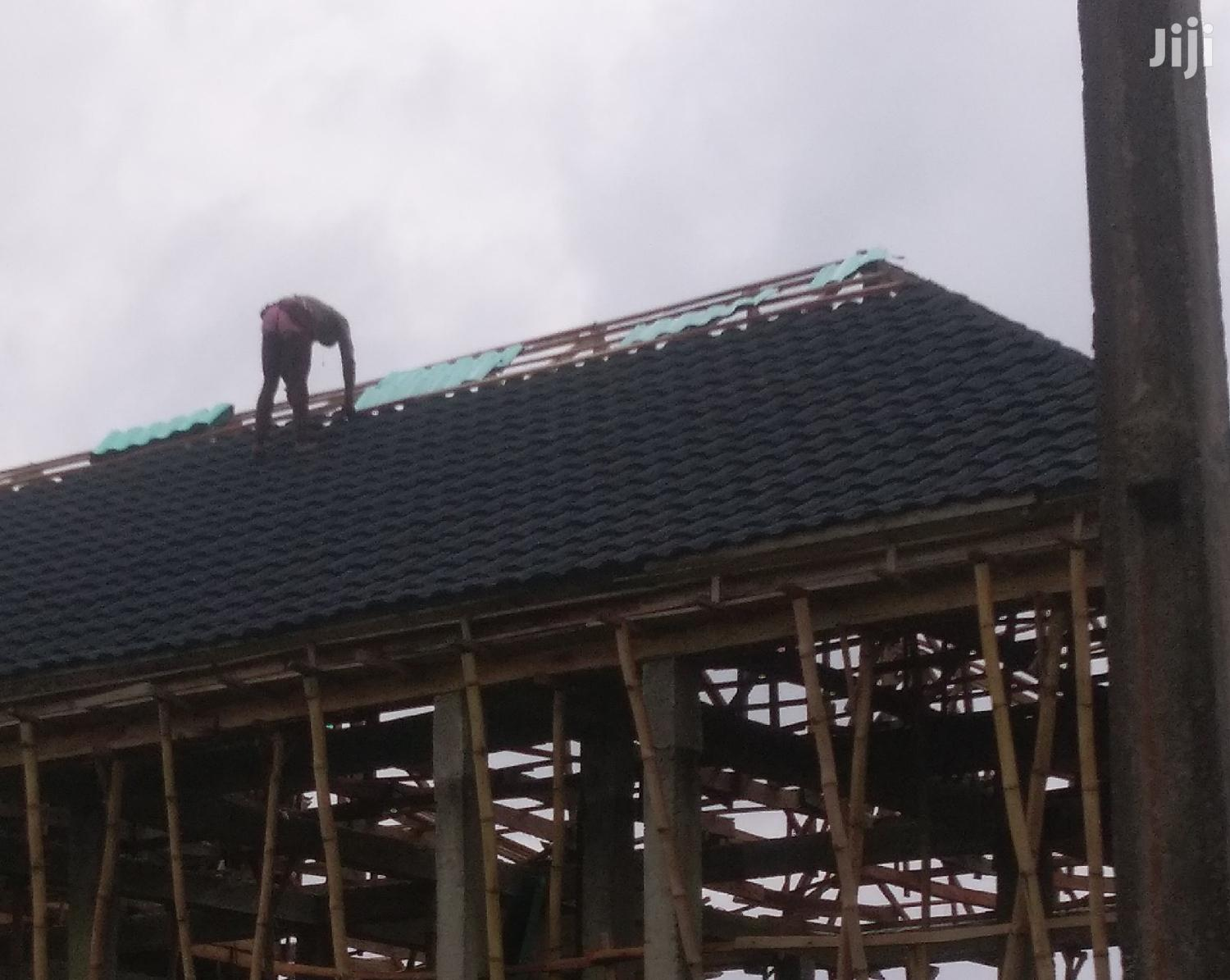 Roman Stone Coated Roofing Tiles   Building & Trades Services for sale in Ajah, Lagos State, Nigeria