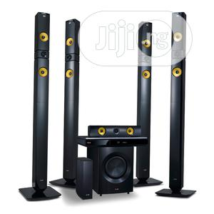 Brand New LG Home Theater 1200w With Bluetooth Connection | Audio & Music Equipment for sale in Lagos State, Ojo