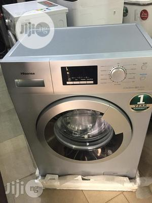 Brand New Hisense 8kg Front Loader Washing Machine Automatic | Home Appliances for sale in Lagos State, Ojo