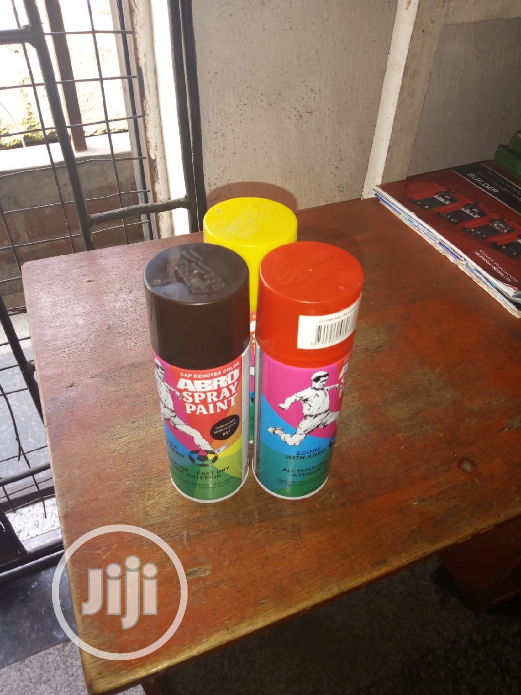 Abro Spray Paint.