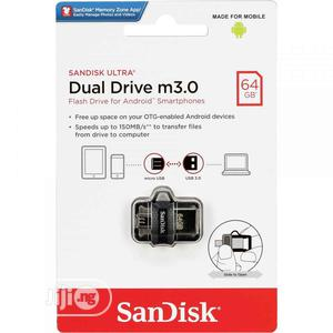 Sandisk 64GB Ultra OTG Dual USB Flash Drive M3.0 For Android Devices   Accessories & Supplies for Electronics for sale in Lagos State, Lagos Island (Eko)