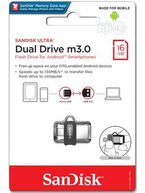 USB Sandisk 16GB Ultra OTG Dual USB Flash Drive M 3.0   Computer Accessories  for sale in Lagos State, Lagos Island (Eko)