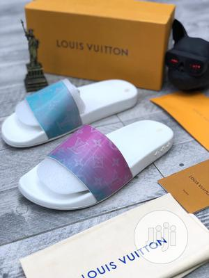Louis Vuitton Pam Slippers Available as Seen Order Yours Now | Shoes for sale in Lagos State, Lagos Island (Eko)