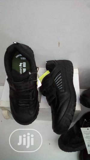 Black School Shoes For Boys By George   Children's Shoes for sale in Lagos State, Lagos Island (Eko)