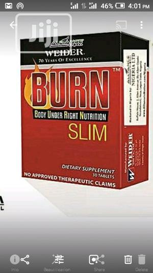 Alliance in Motion Burn Slim Natural Weight Loss Tablets | Vitamins & Supplements for sale in Lagos State, Ikeja