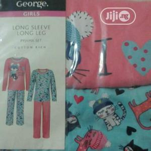 George 2pack Girl's Long Sleeve Pyjamas   Children's Clothing for sale in Lagos State, Alimosho