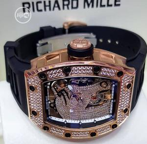 Richard Mille Men Ice Wristwatch Available as Seen Order Yours Now | Watches for sale in Lagos State, Lagos Island (Eko)