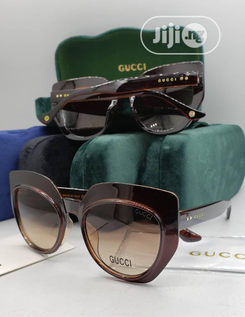 Gucci Brown Sunglass for Women's