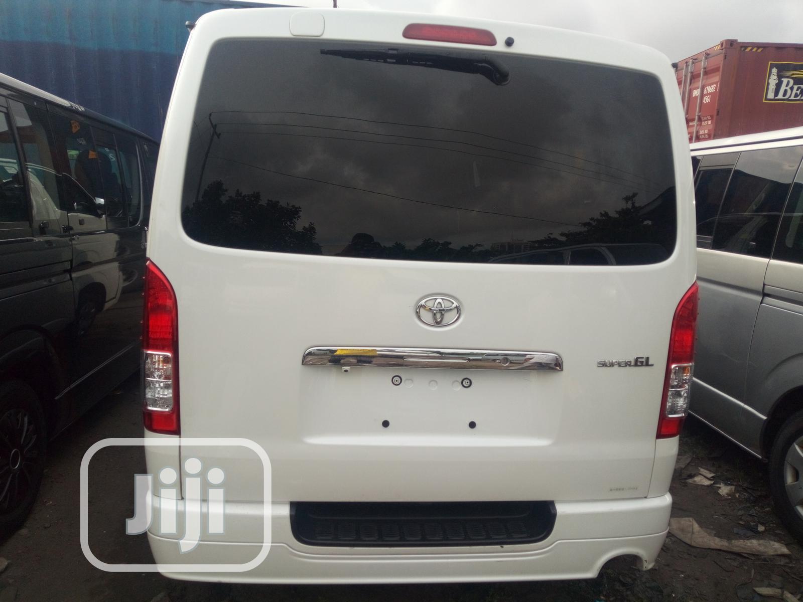 Toyota Hiace 2014 White   Buses & Microbuses for sale in Apapa, Lagos State, Nigeria