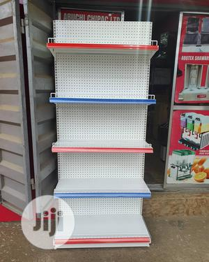 Single Sided & Double Side Peforated Supermarket High Quality Shelving | Store Equipment for sale in Lagos State, Lagos Island (Eko)