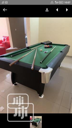 Original 8ft Snooker Pool Table With Full Accessories   Sports Equipment for sale in Lagos State, Orile