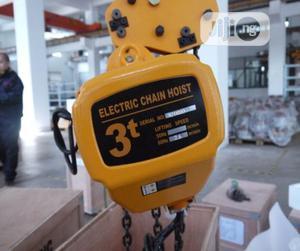 Toho Electric Chain Hoist 3ton | Manufacturing Equipment for sale in Lagos State, Amuwo-Odofin