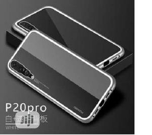 Magnetic Metal Frame Tempered Glass Case for Huawei P20 Pro | Accessories for Mobile Phones & Tablets for sale in Lagos State, Ikeja