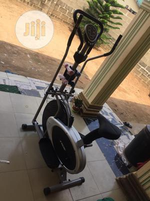 Orbitrac Bike With Dumbbell | Sports Equipment for sale in Lagos State, Surulere