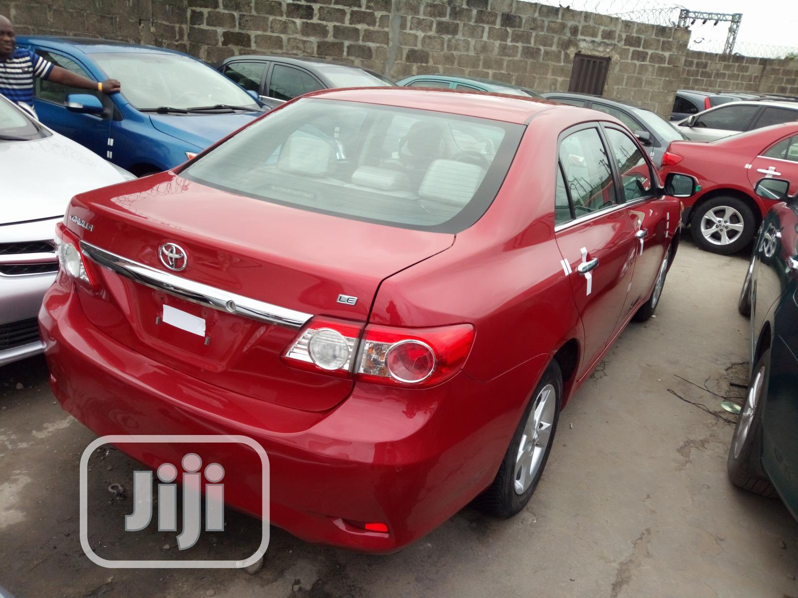 Archive: Toyota Corolla 2012 Red