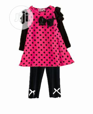 Girl's Dress And Leggings Set | Children's Clothing for sale in Lagos State, Amuwo-Odofin