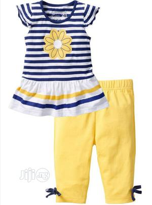 Girl's Dress and Leggings Set   Children's Clothing for sale in Lagos State, Amuwo-Odofin