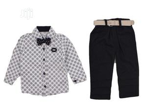 Turkey Boy Shirt, Trouser and Tie - Black | Children's Clothing for sale in Lagos State, Isolo