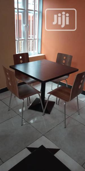 Restaurant Table and 4 Chairs | Furniture for sale in Lagos State, Ojo