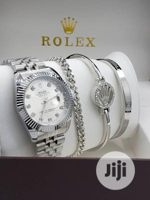 Rolex Silver/Bangle Watch for Women's | Watches for sale in Lagos State, Lagos Island (Eko)