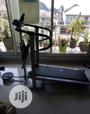 Manual Treadmill With Stepper and Twister   Sports Equipment for sale in Lagos State, Lekki