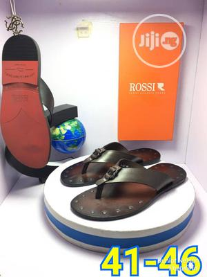 Original Italian Men Leather Slippers | Shoes for sale in Lagos State, Surulere