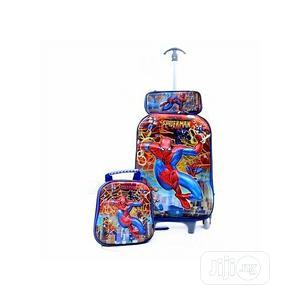3 In 1 Spiderman Kiddies Trolley School Bag Set | Babies & Kids Accessories for sale in Lagos State, Lagos Island (Eko)