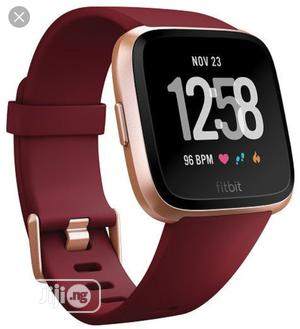 Fitbit Versa Fitness Watch   Smart Watches & Trackers for sale in Lagos State, Ikeja