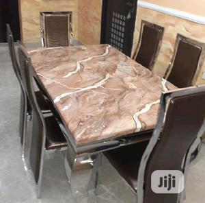 Imported Marble Dining Table | Furniture for sale in Lagos State