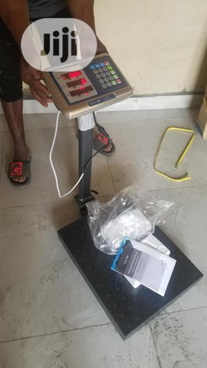 300 Kg Camry Digital Scale (100%Chaker Plate) | Store Equipment for sale in Abuja (FCT) State, Jabi