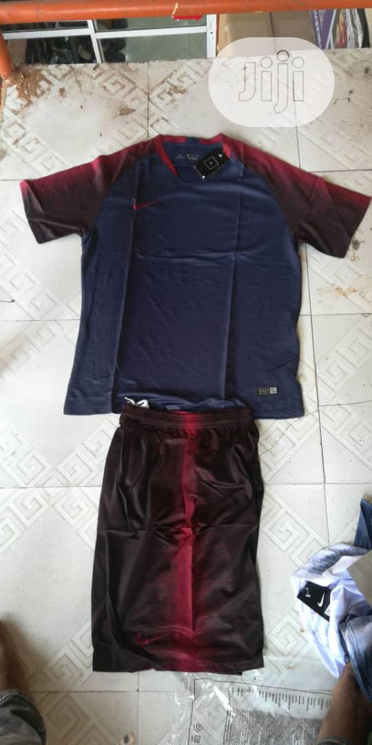 Archive: Nike Set Of Football Jersey