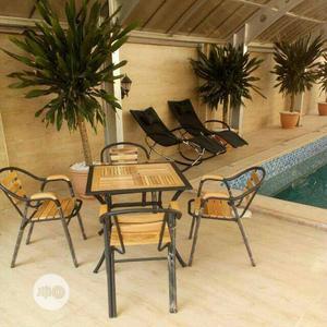 New Indoor/Outdoor/Garden Table & Chair Set.   Garden for sale in Lagos State, Ojo
