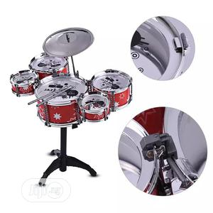 Kids Jazz Drum Set Kit Toy 5 Drums + 1cymbal With Small | Toys for sale in Lagos State, Lagos Island (Eko)