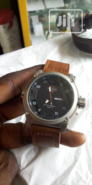 Army Leather Watch   Watches for sale in Lagos State, Lagos Island (Eko)