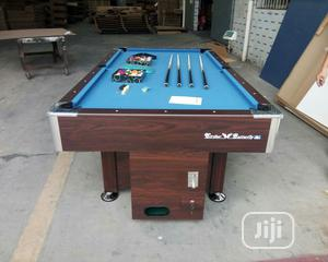 Snooker Board With Marble and Coins | Sports Equipment for sale in Delta State, Oshimili South