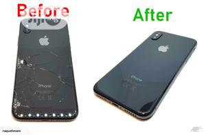 Original iPhone X Max Xs Max Replacement Back Glass   Accessories for Mobile Phones & Tablets for sale in Lagos State, Ikeja