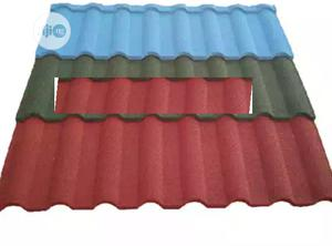 Installer New Zealand Gerard Stone Coated Roof Tile Black Shingle | Building & Trades Services for sale in Lagos State, Lekki