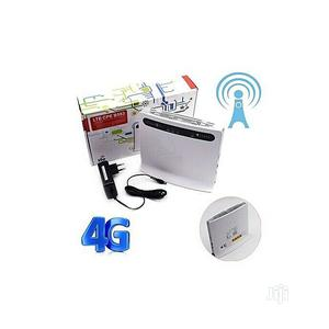 Huawei Cpe B593 LTE Router Wifi Glo Ntel Etisalat Airtel MTN | Networking Products for sale in Lagos State, Ikeja
