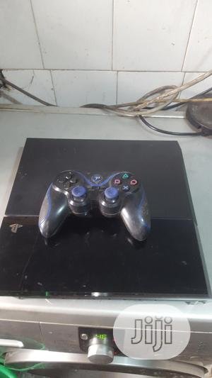 Playstation (PS4) & Wireless Pad (London Used)   Video Game Consoles for sale in Lagos State, Ikeja