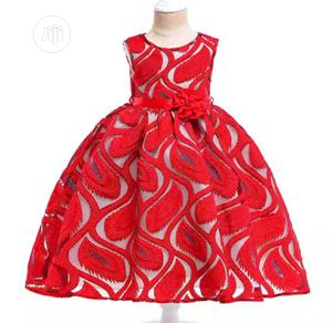 Beautiful Baby Girl Lace Dress   Children's Clothing for sale in Lagos State, Surulere