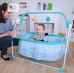 Electric Swing Baby Crib | Children's Gear & Safety for sale in Lagos State, Surulere