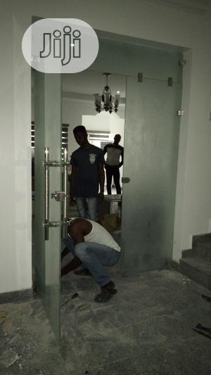 Glass Swing Door   Doors for sale in Rivers State, Port-Harcourt