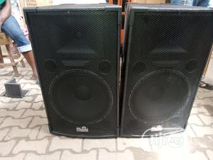 TT15 High Range Speakers With Stands - Pair   Audio & Music Equipment for sale in Lagos State, Ojo